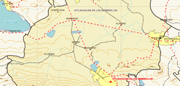 Rechaza cabildo de Ixlahuacán de los Membrillos de forma parcial sus límites territoriales con Chapala.