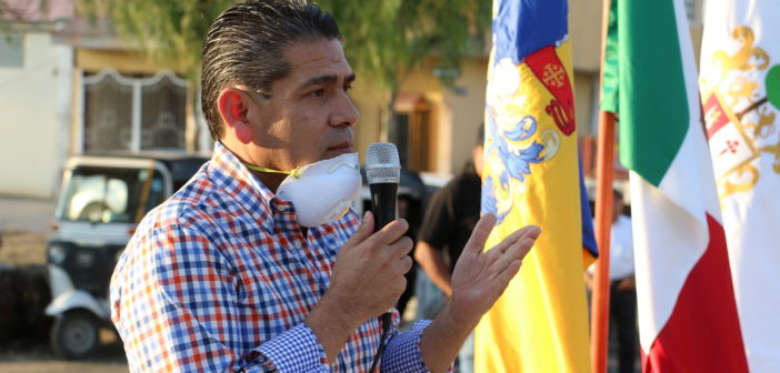 Pese a contingencia por Covid-19, obras y proyectos para Ixtlahuácan de los Membrillos seguirán: Eduardo Cervantes.