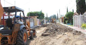 Inician intervención para renovar la imagen urbana de vialidades en Ixtlahuacán de los Membrillos.