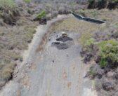 Reanudan búsqueda de desparecidos en presa Los Cocos de Chapala.