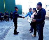 Entregan Certificado Único Policial a elementos de Poncitlan.
