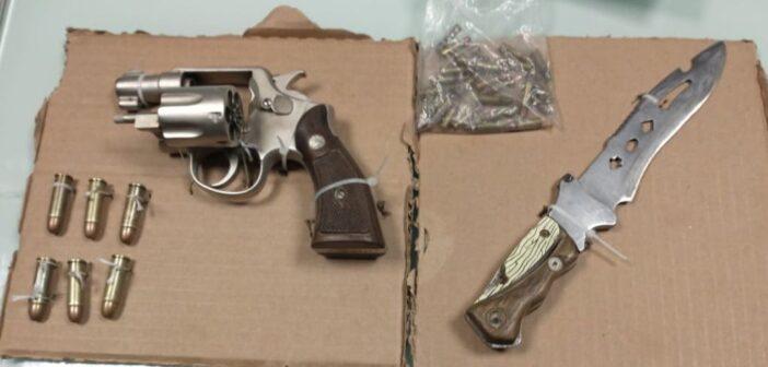 Policía Municipal detiene a hombre armado que amedrentaba a sus vecinos.