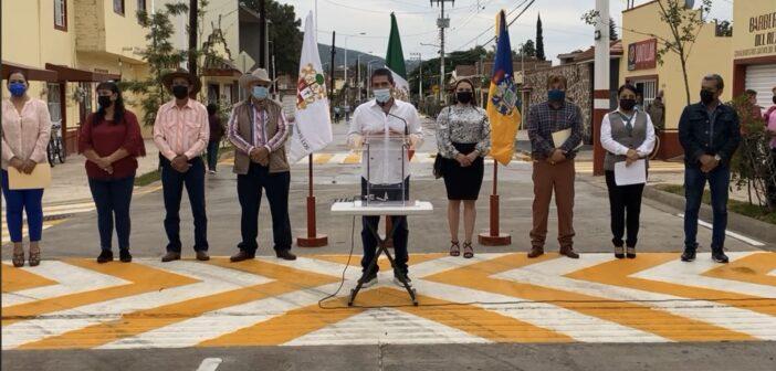 Abren a la circulación calle Hidalgo en Atequiza.