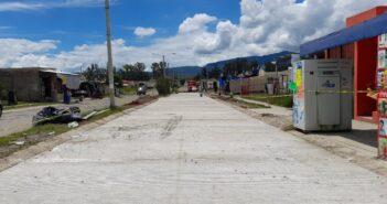 Aplican 1.2 mdp en pavimentación en Valle de los Sabinos IV.