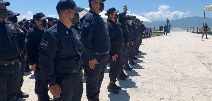 Se gradúa 9ª generación de la Academia policial de Chapala.